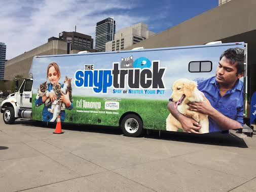 "Toronto launches the ""SNYP"" truck"
